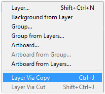 photoshop layer copy window